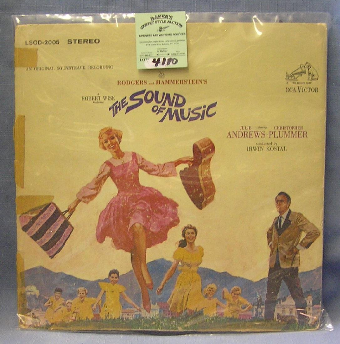Vintage the Sound Of Music record album