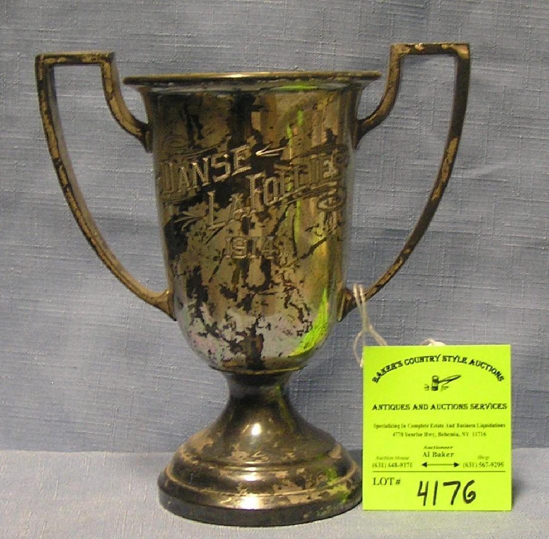 Antique presentation trophy the Dance Le follies