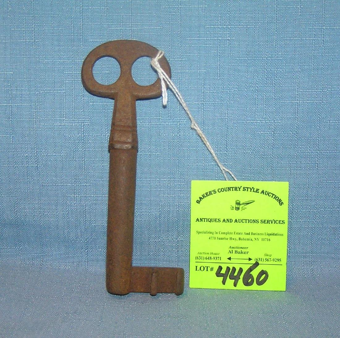 Antique jail house key circa 1860's