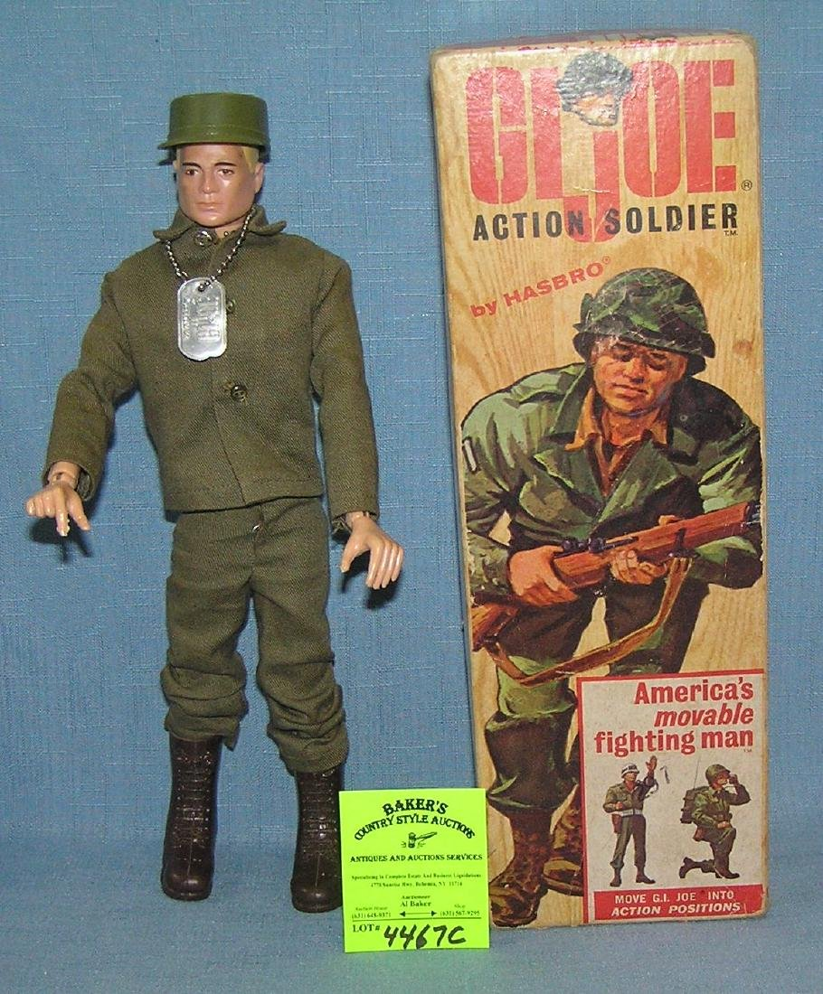 Early original GI Joe action soldier
