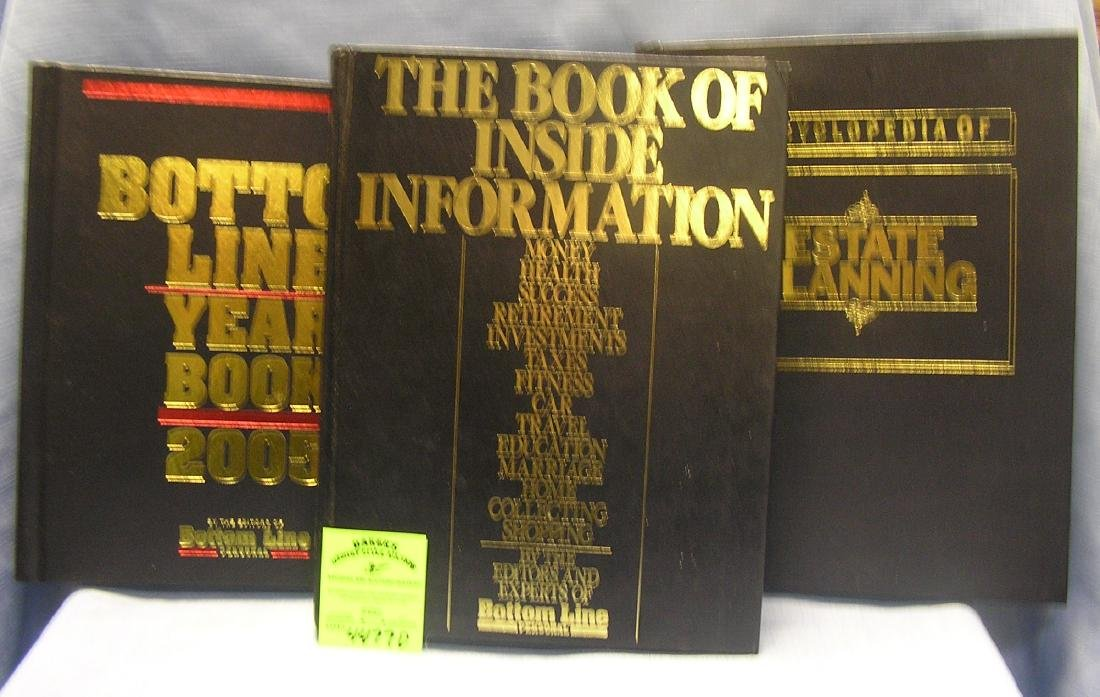 Group of educational and informational books