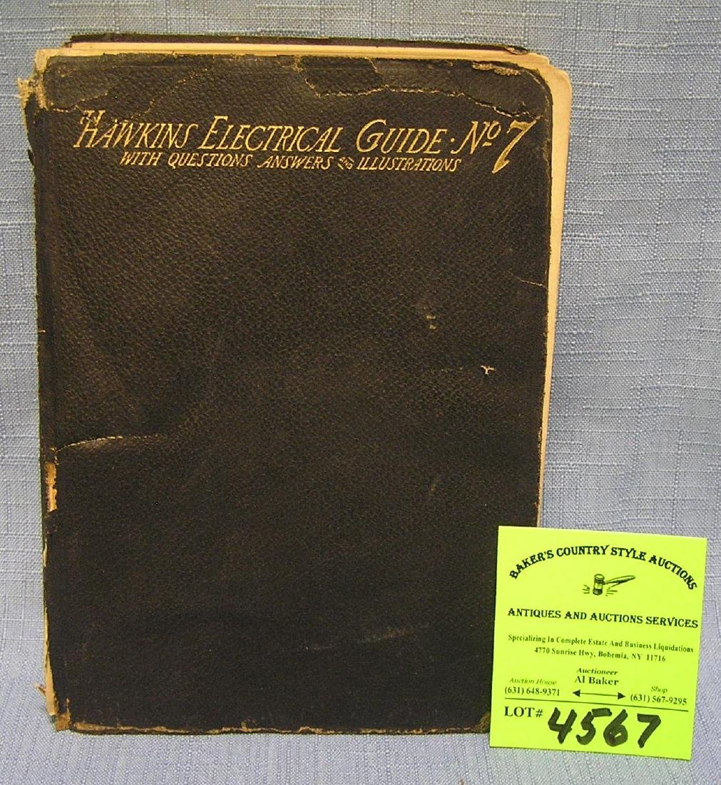 Hawkins electrical guide # 7 first edition dated 1947