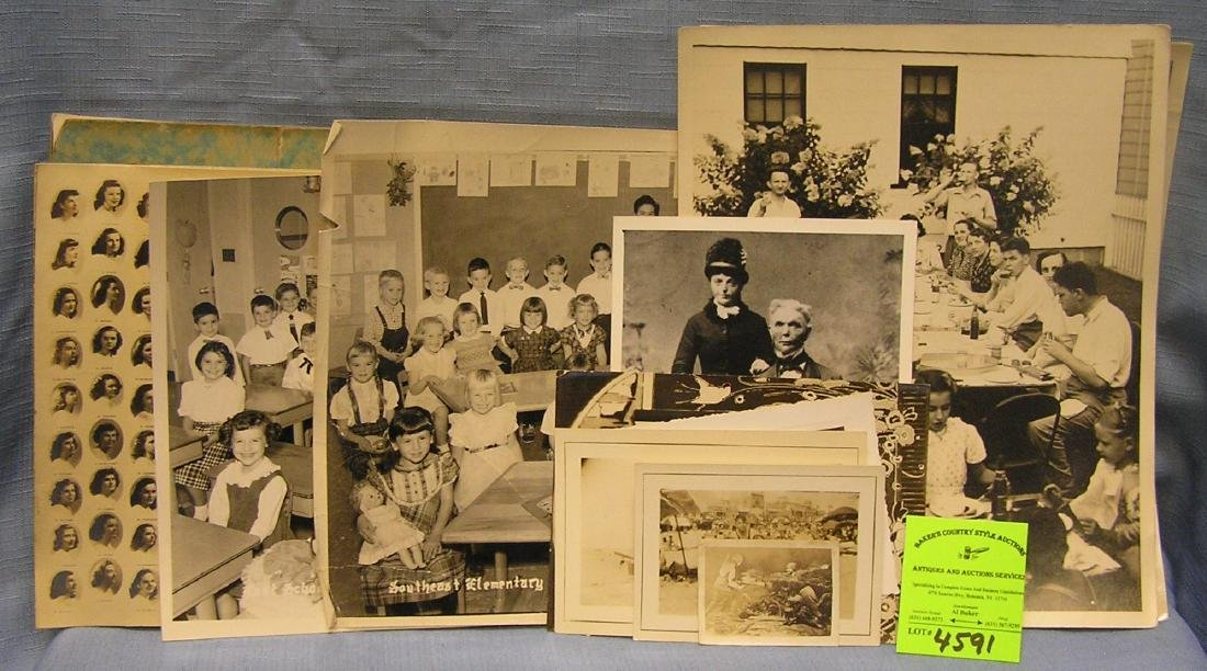 Collection of early photographs