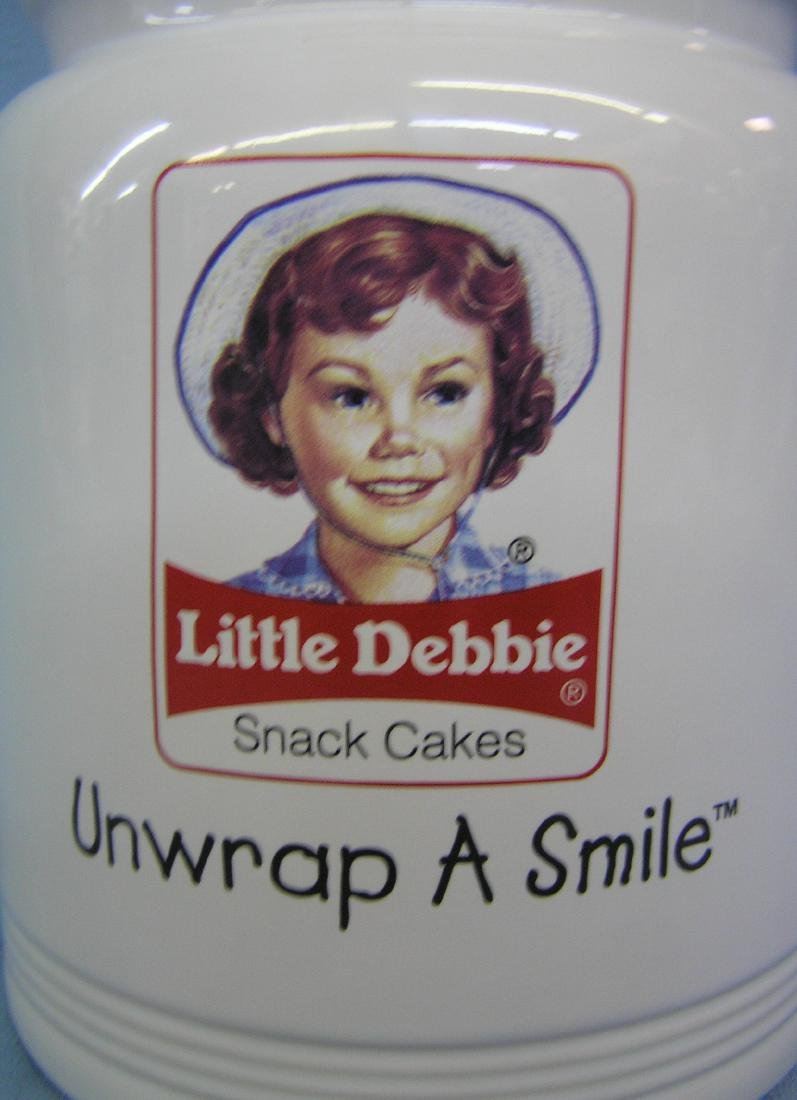 Little Debbie snack cakes cookie jar