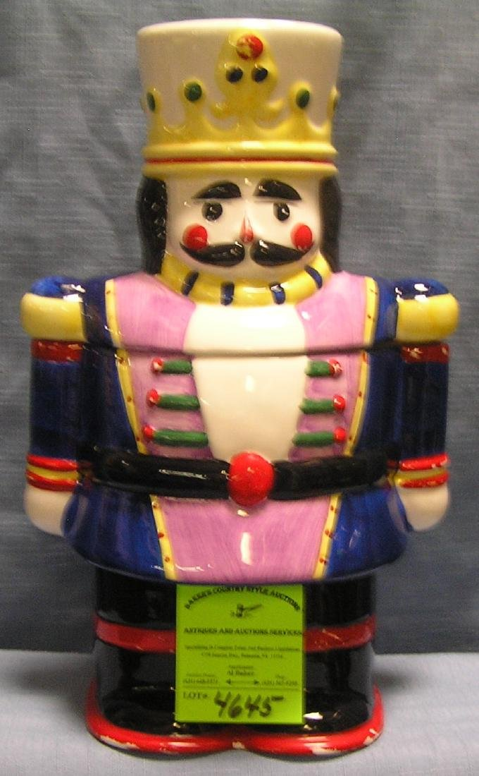 March of the Wooden Soldiers cookie jar