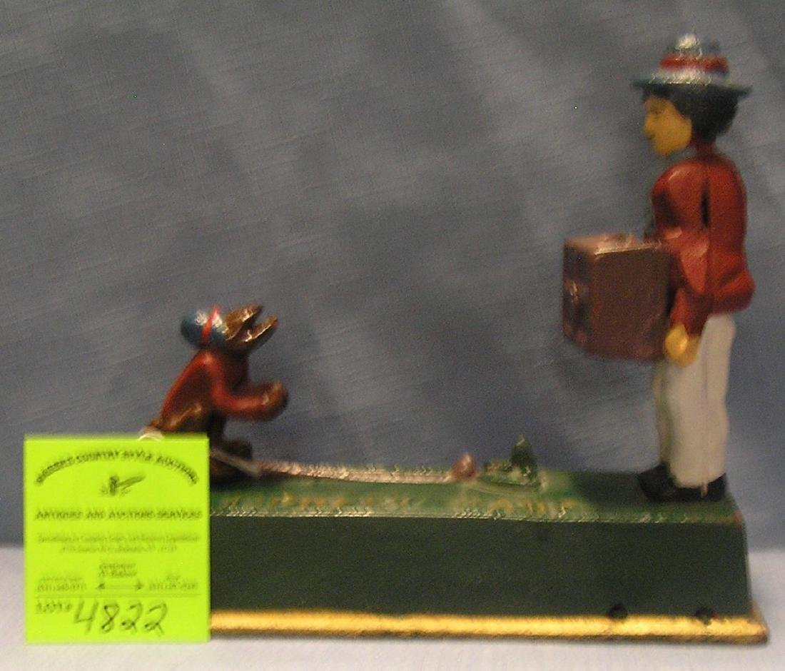 Monkey and Organ Grinder mechanical bank