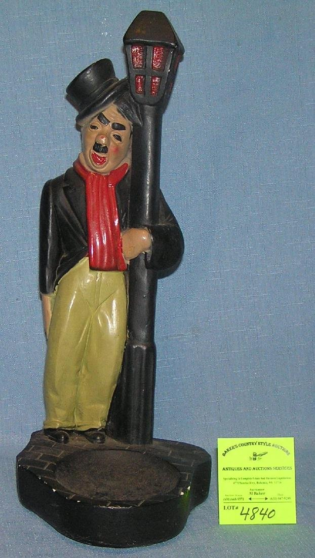 Early hand painted Charlie Chaplin composition figure