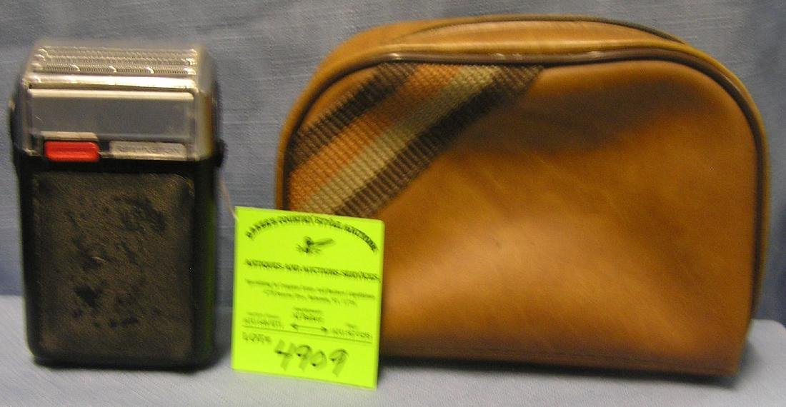 Vintage Remington shaving kit