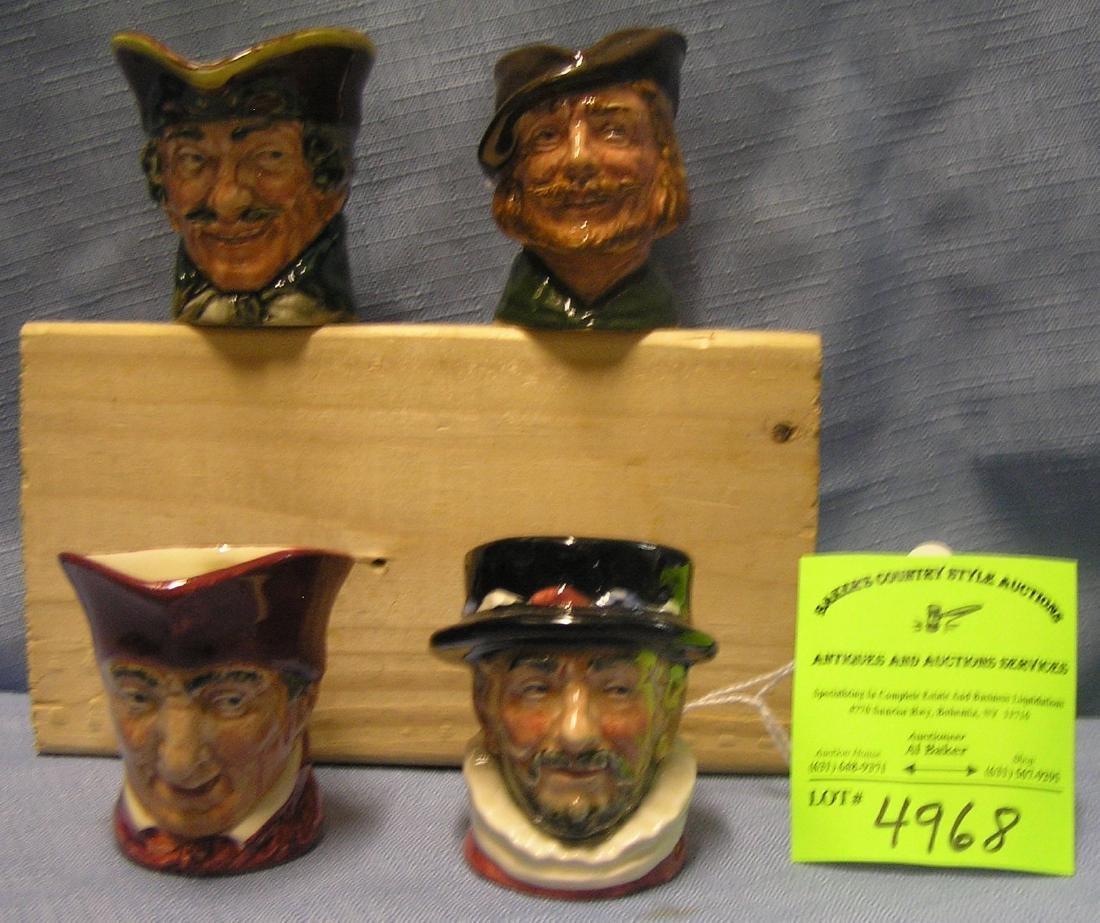 Vintage Royal Dalton character Toby mugs