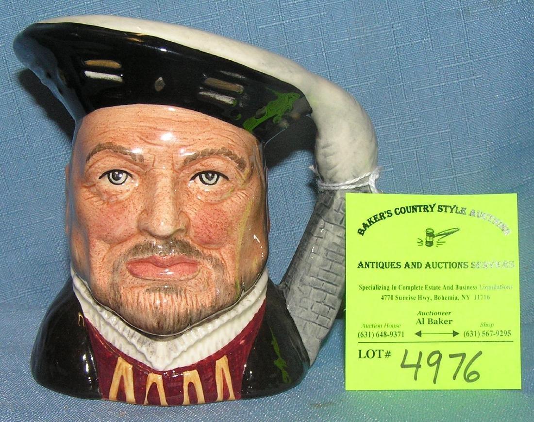 Vintage Royal Dalton character Toby mug