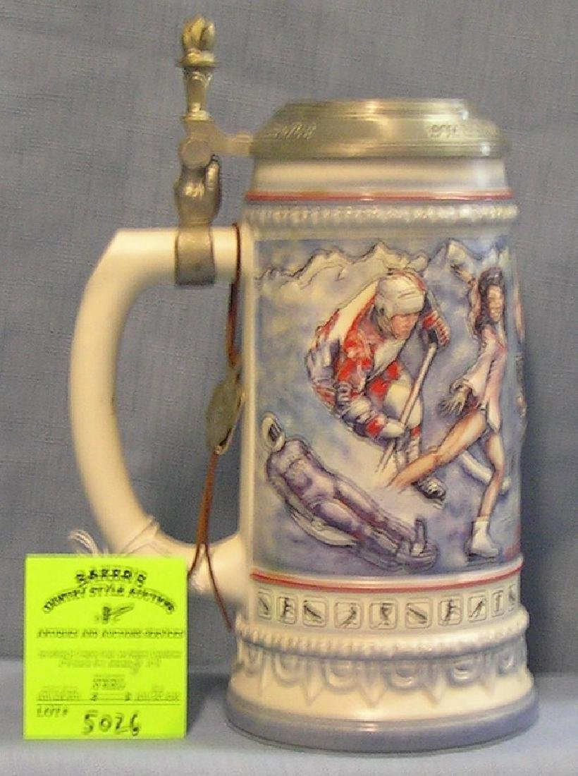 Vintage US Winter Olympic games Team beer stein