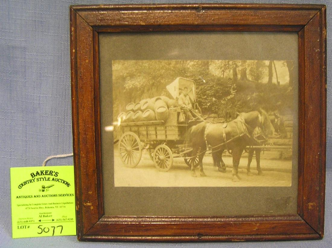 Lion Brewery horse drawn delivery wagon photo