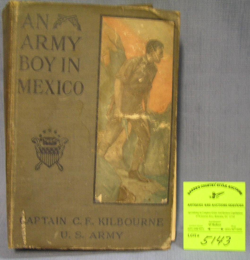 An Army Boy in Mexico book