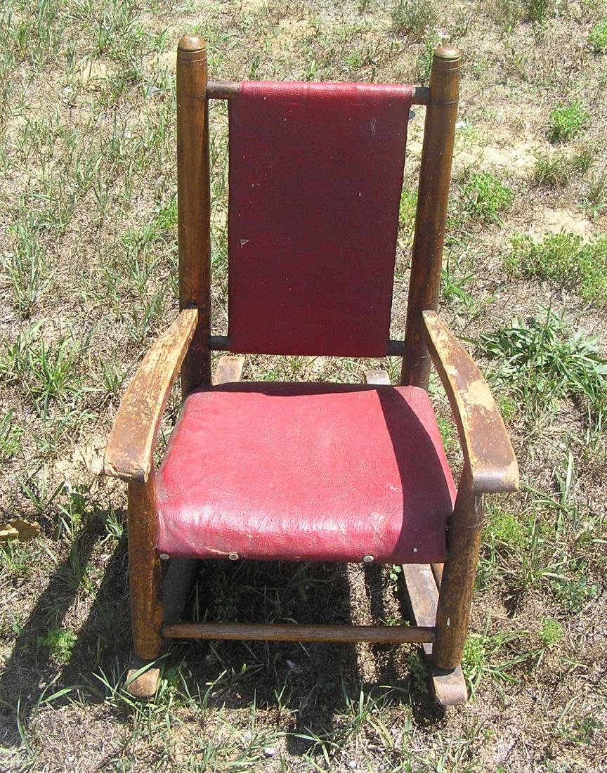 Antique hand made child's chair circa 1850's