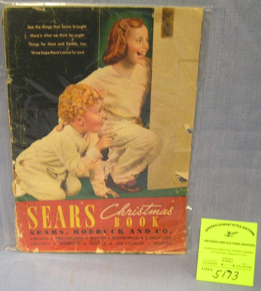 Original Sears Roebuck and company sales catalog