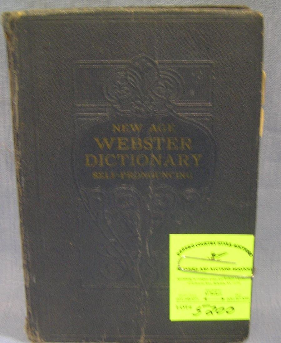 New Age Webster's dictionary