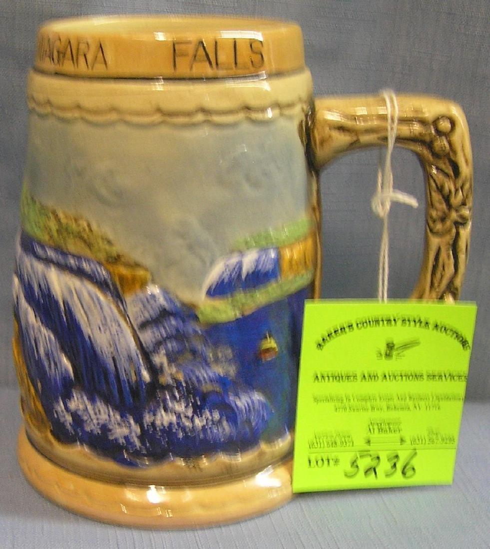 Souvenir mug from Niagara Falls