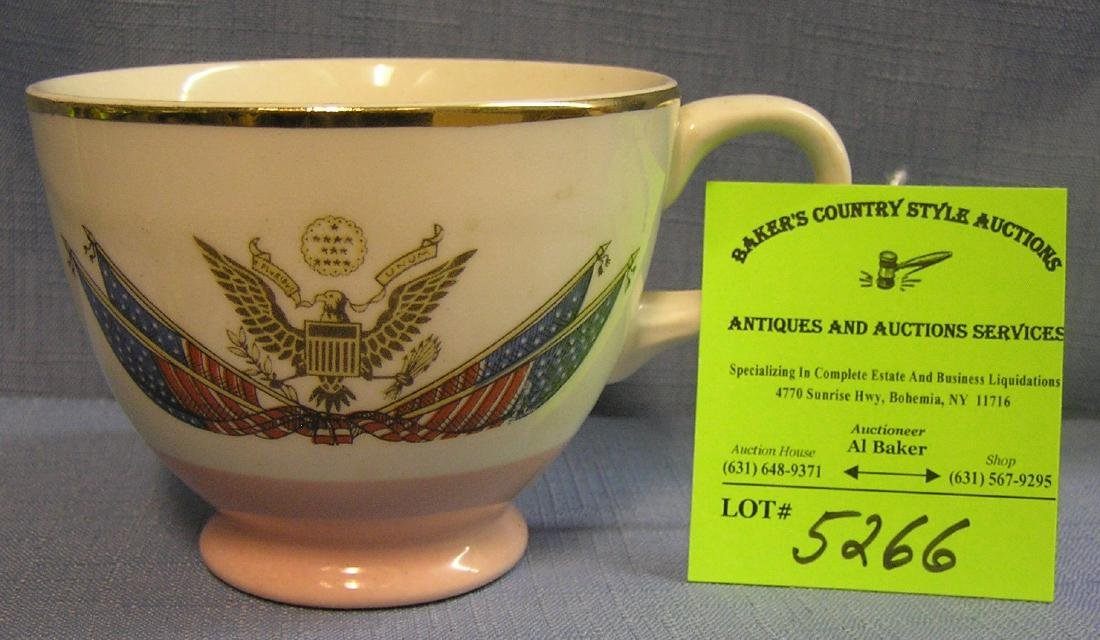 Great early presidential coffee cup