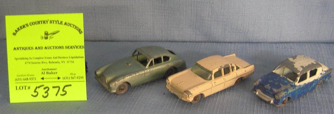 Group of three early Matchbox vehicles