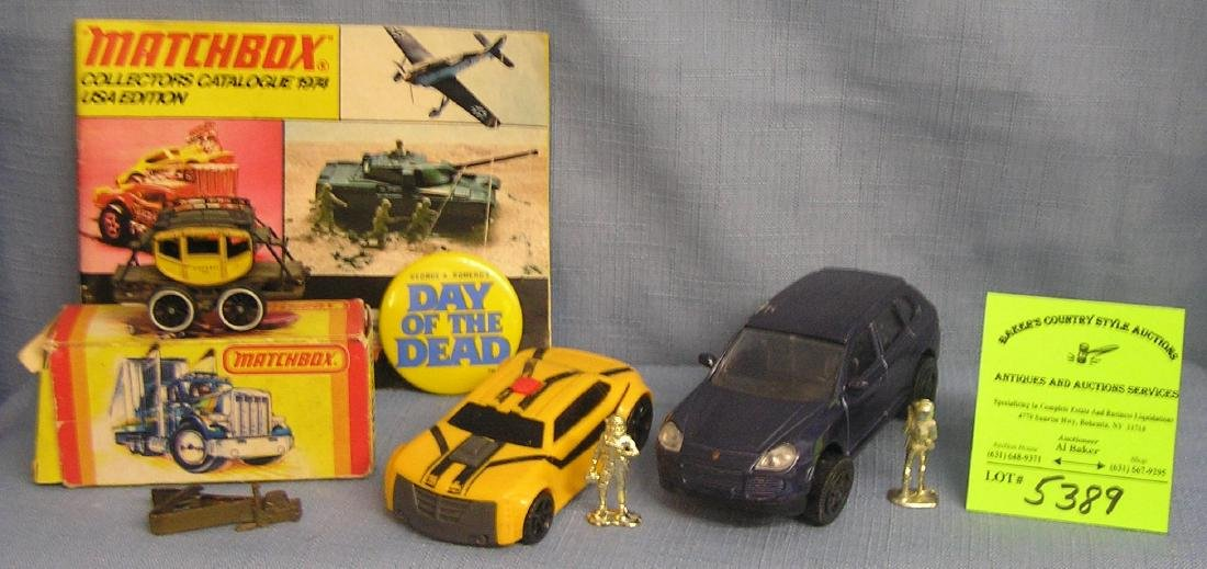 Vintage toy vehicles, parts, accessories and more