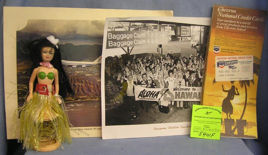 Group of Hawaii collectibles