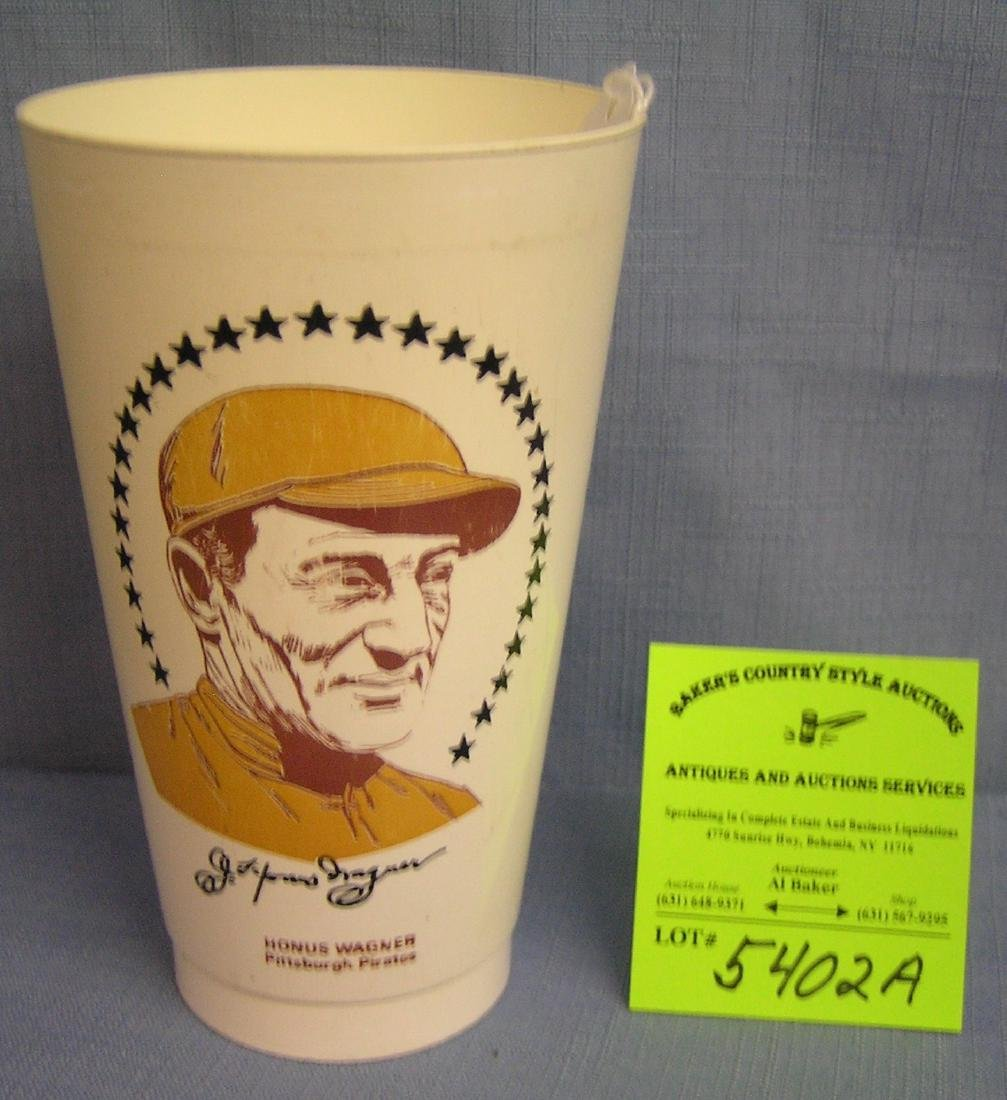 Vintage Honus Wagner Pittsburg Pirates sports cup