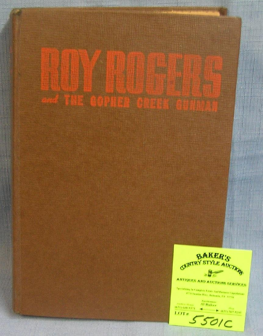 Early Roy Rodgers and the gopher creek gunman