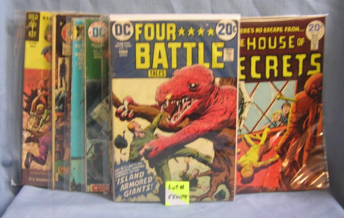 Horror, mystery and Science Fiction comic books