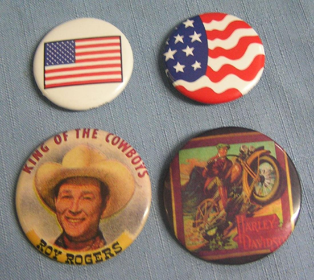 Group of vintage style buttons