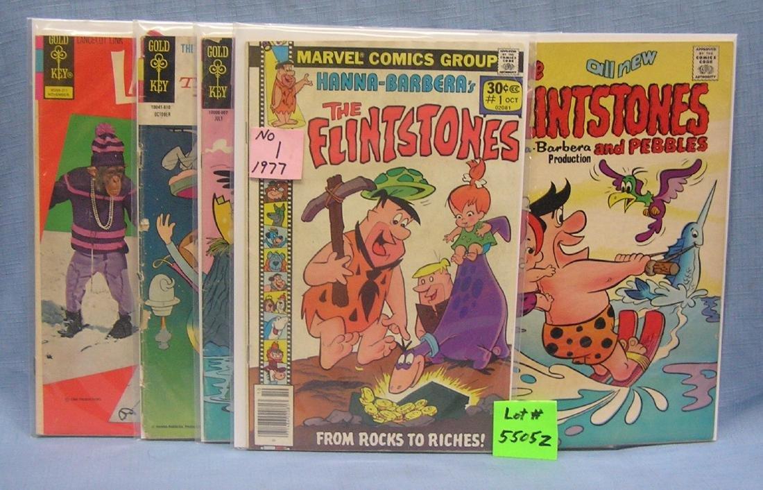 Early Flintstones, Jetsons & more comic books