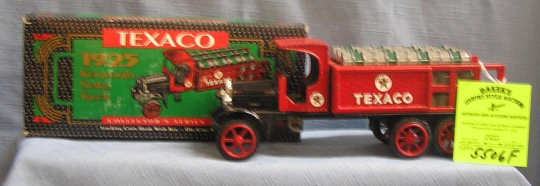 Texaco 1925 oil delivery truck bank