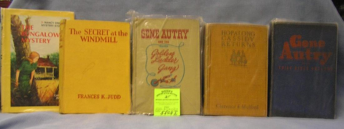 Group of vintage early novels