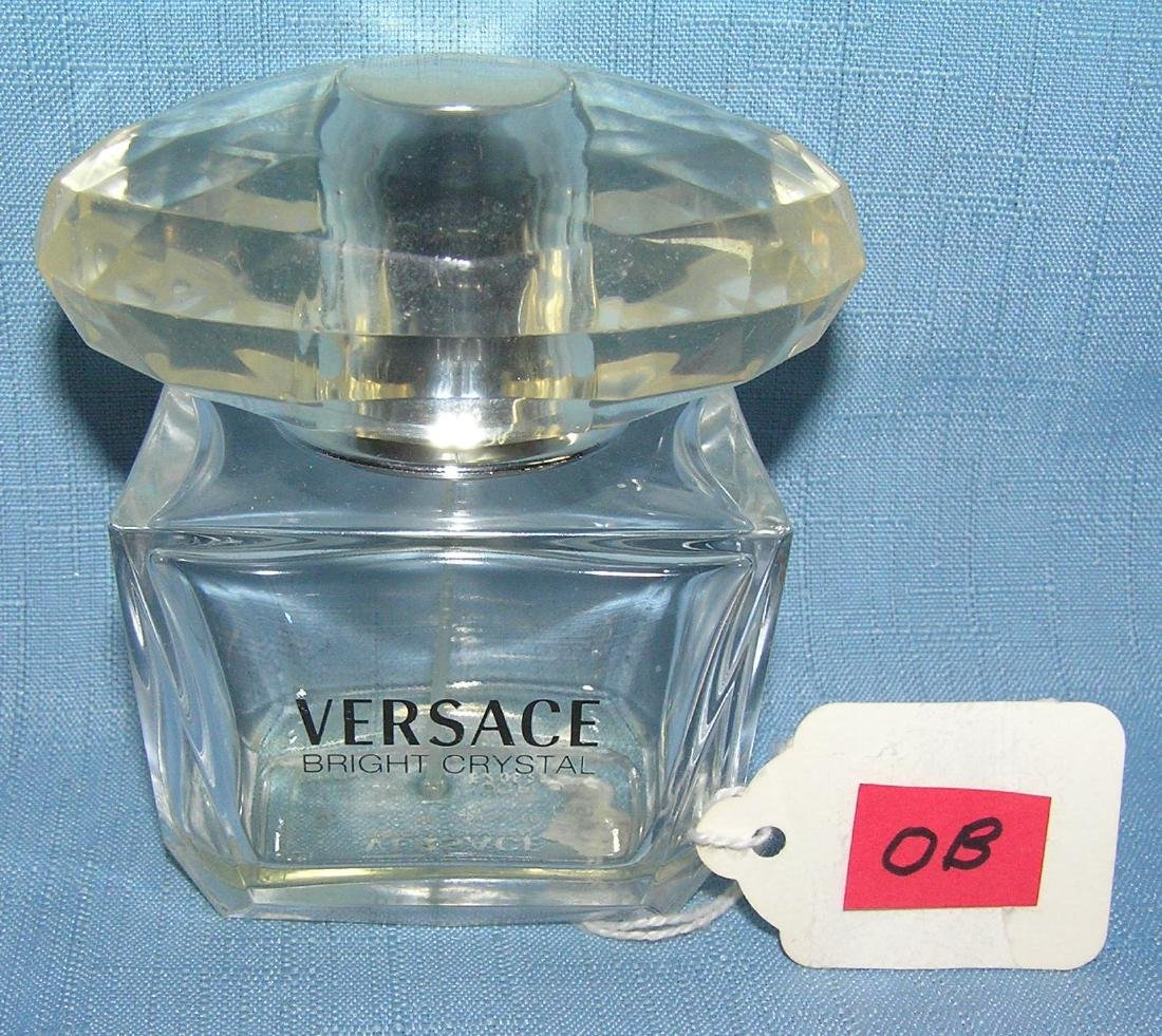Versace bright crystal designer perfume bottle