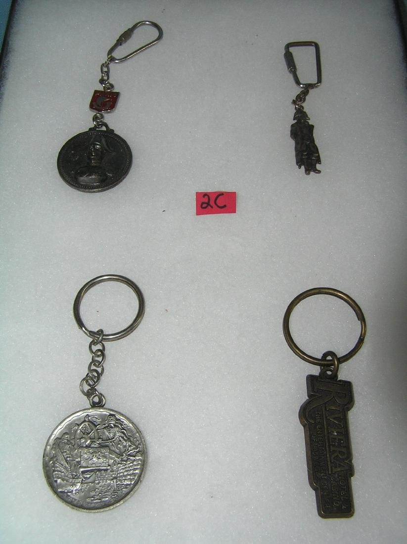 Collection of great souvenir key chains
