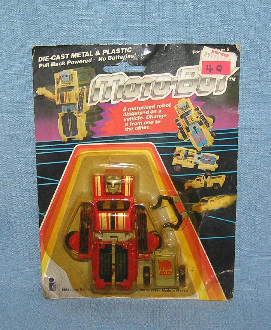 Moto Boy cast metal and plastic transformer type toy