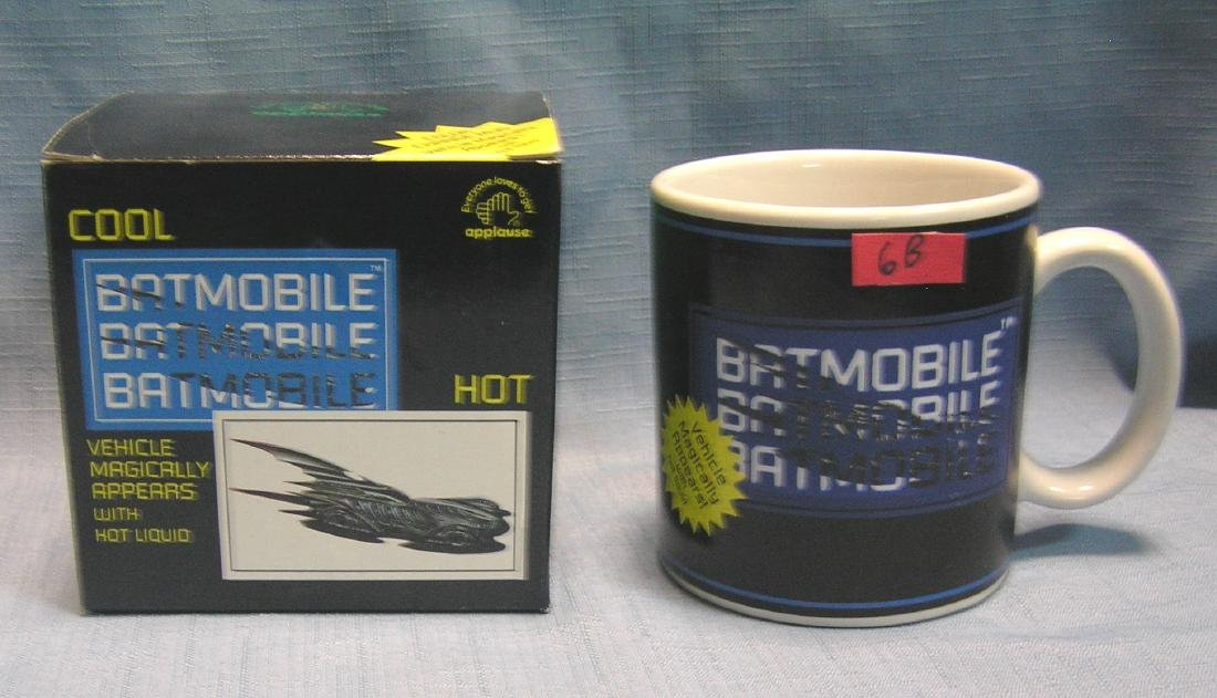 Batmobile mystery appearing image collector's mug