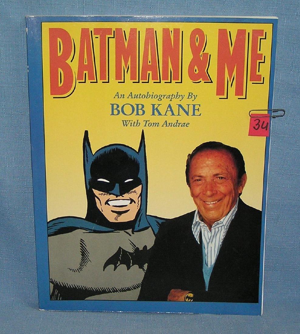 Batman and Me autobiography by Bob Kane
