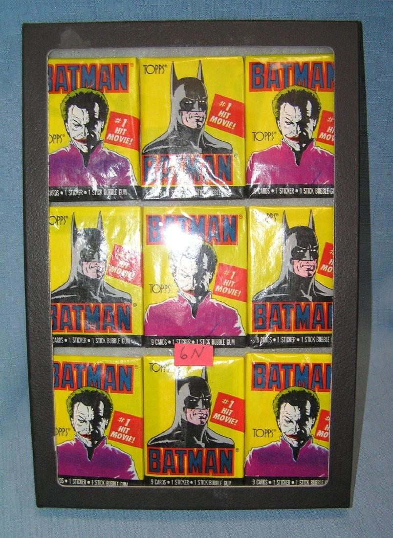 Vintage Batman unopened nonsports card packs