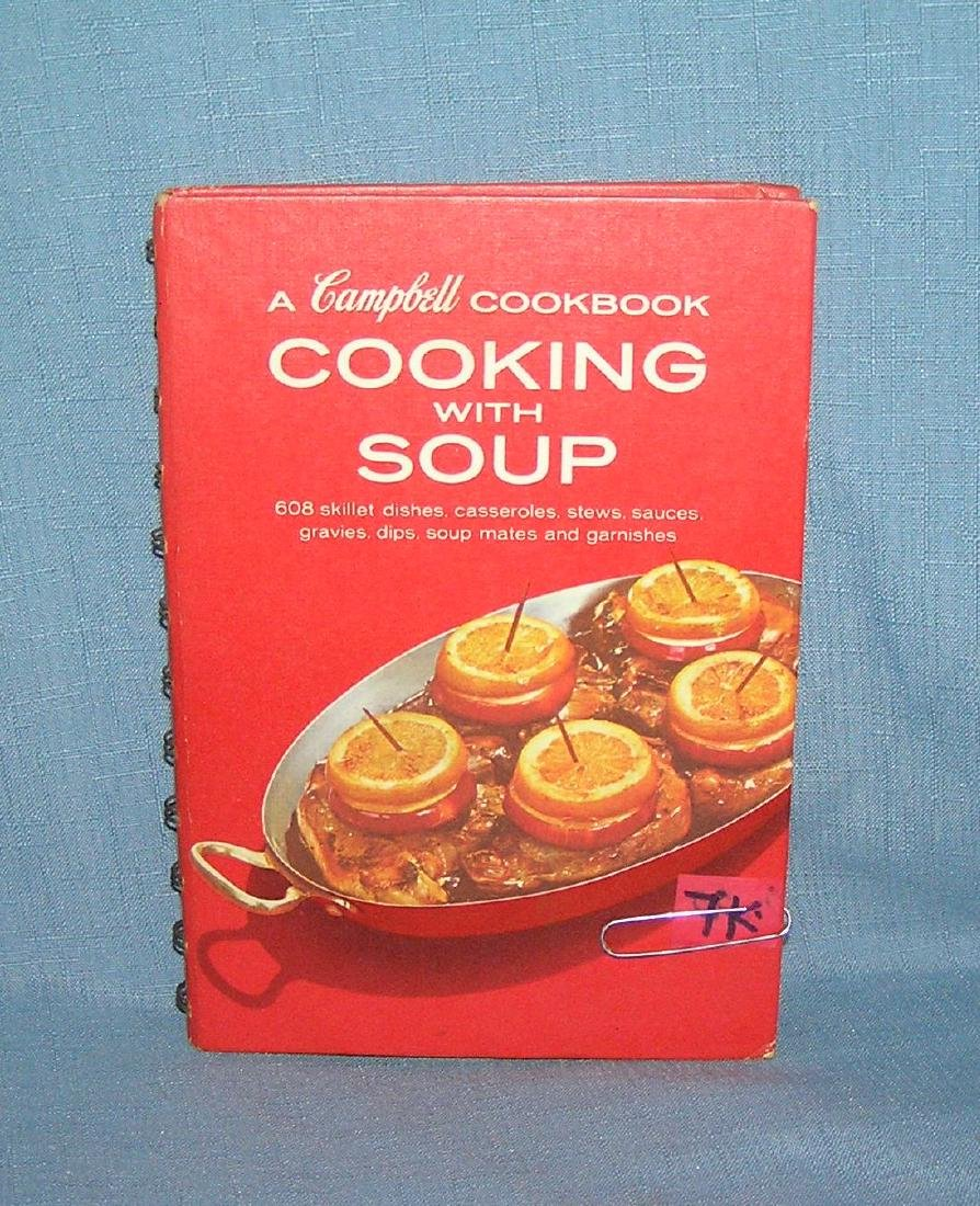 Vintage Campbell's cook book