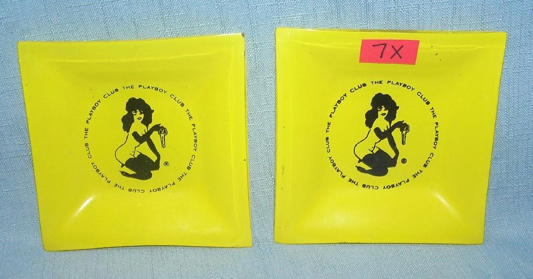 Pair of Playboy Club ash trays