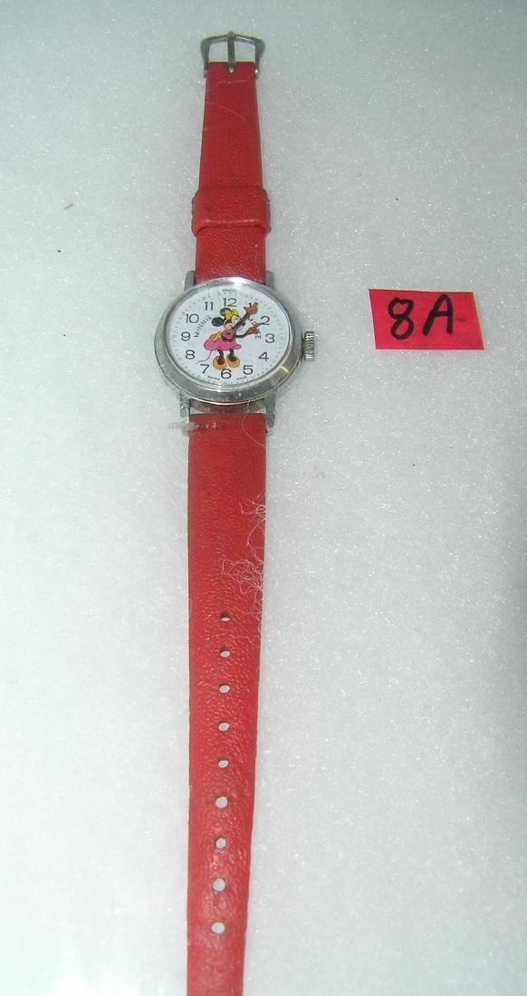 Vintage Minnie Mouse wrist watch