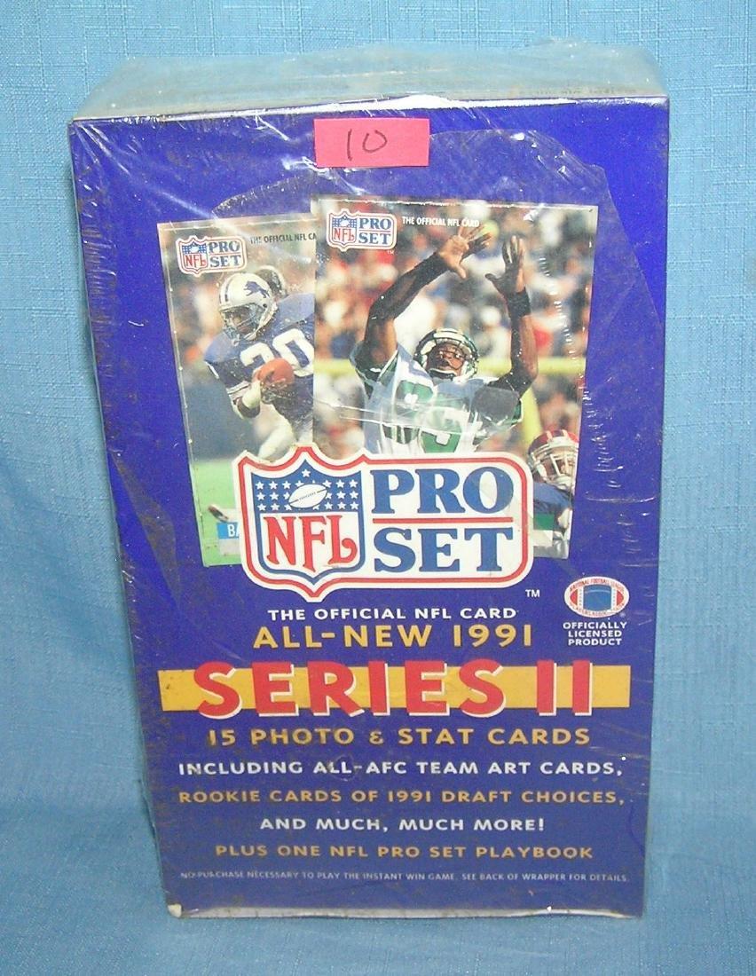 NFL pro set 1991 unopened football card packs
