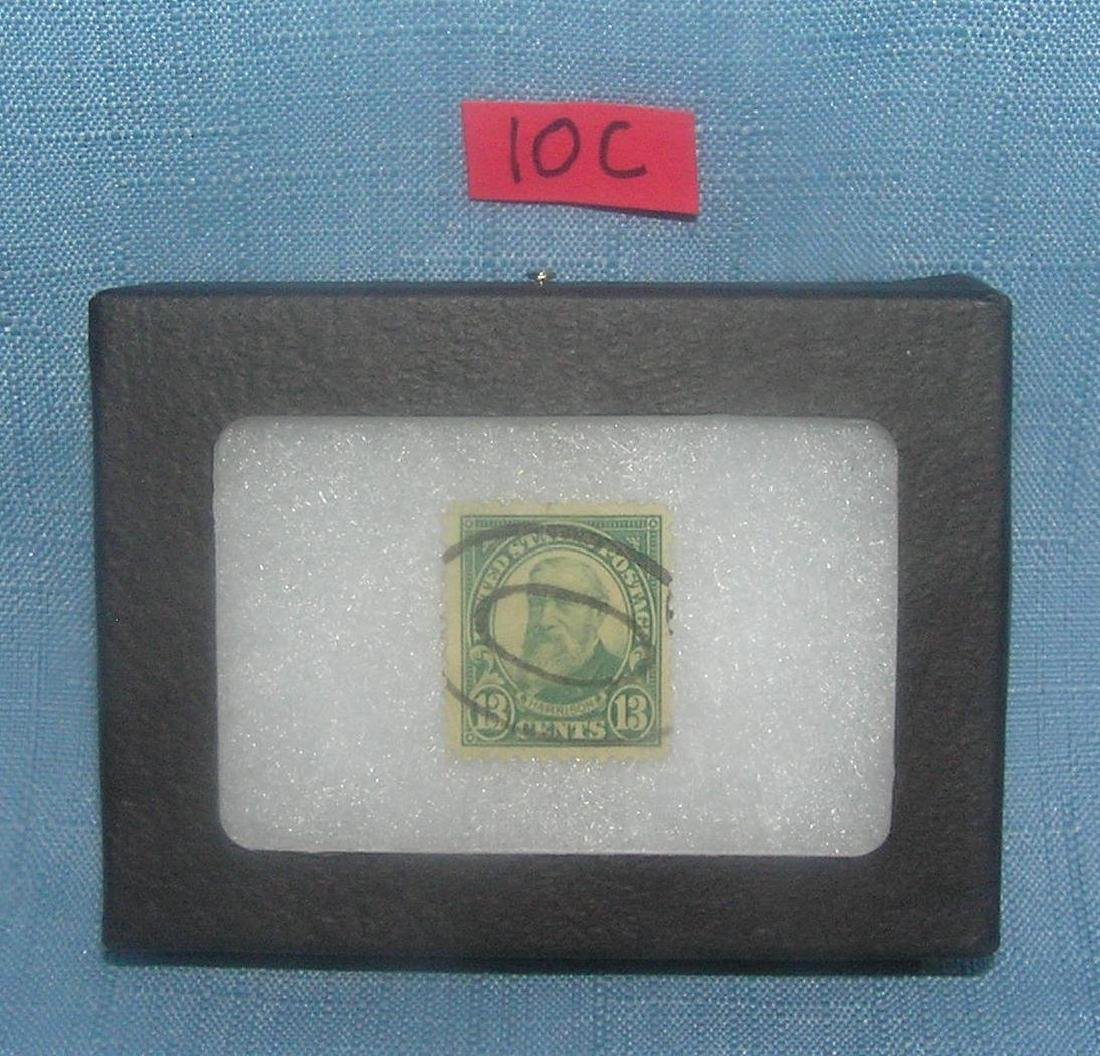 Early US high denominational 13 cent postage stamp