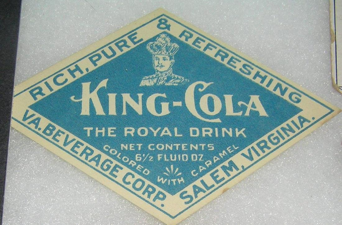 King Cola advertising piece