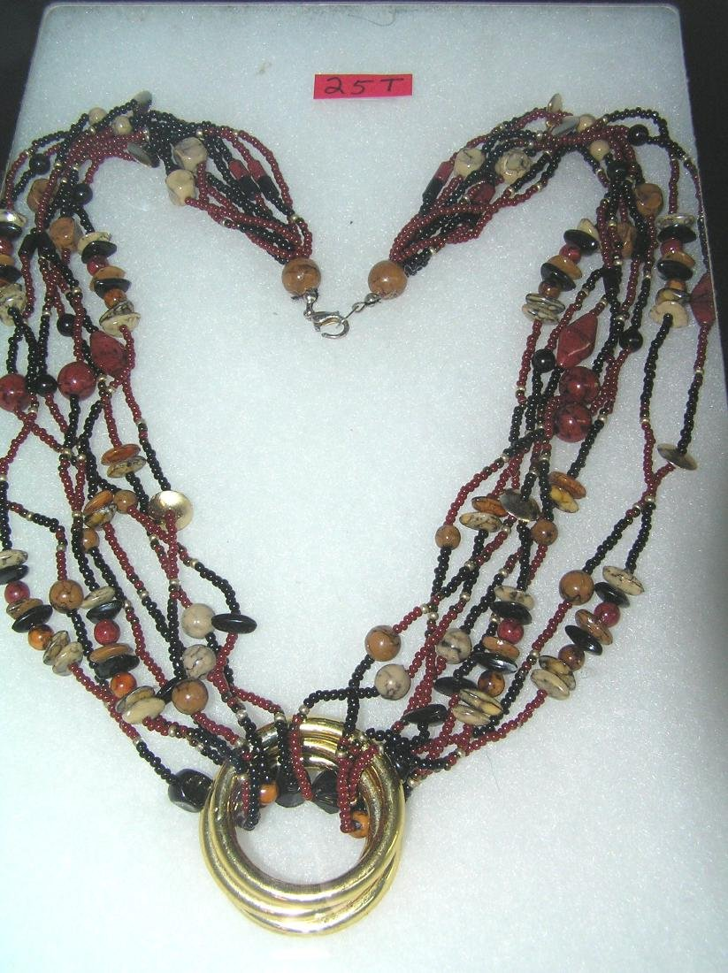 Quality beaded costume jewelry necklace