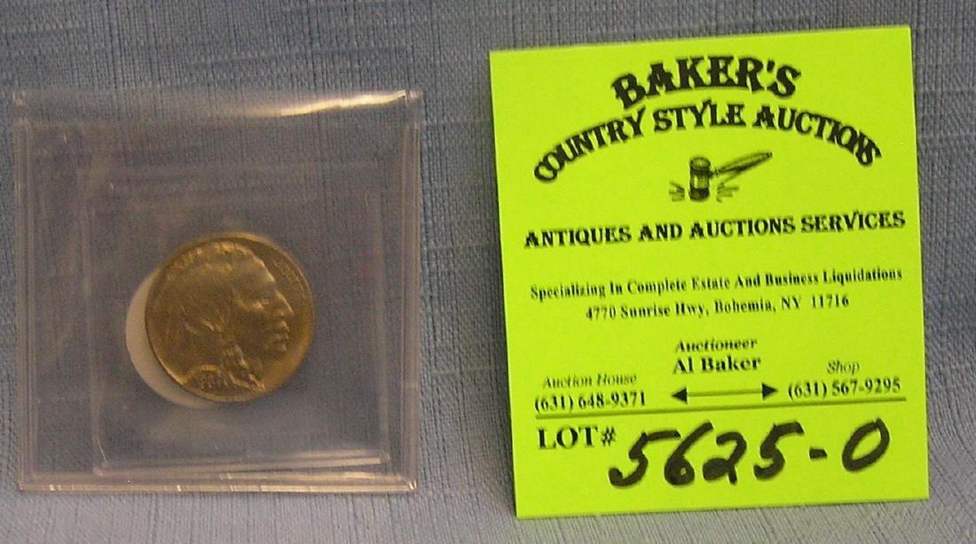 Vintage 1930 Buffalo nickel MS65