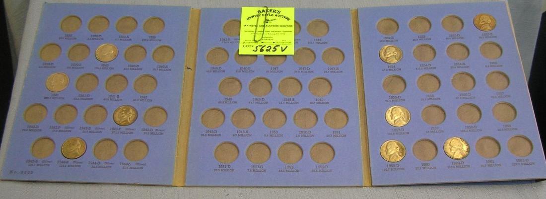Jefferson Nickel starter collection 1938-1961