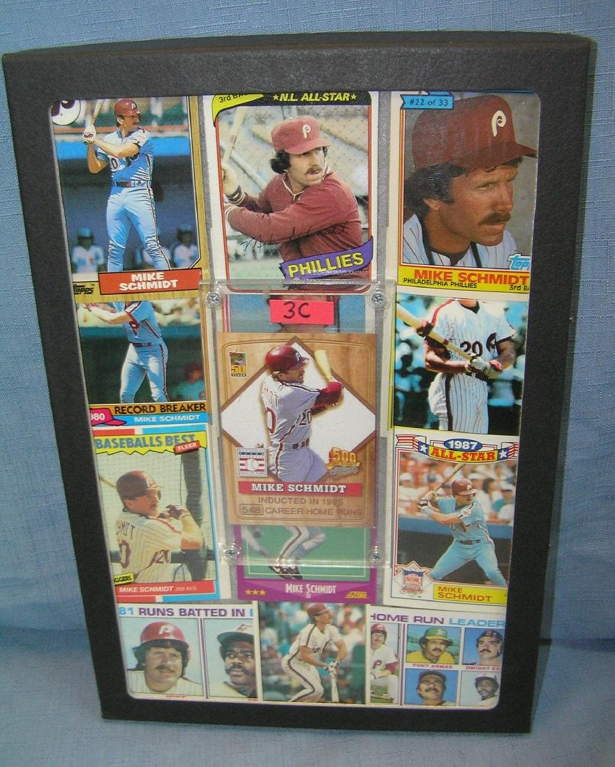 Mike Schmidt all star baseball cards