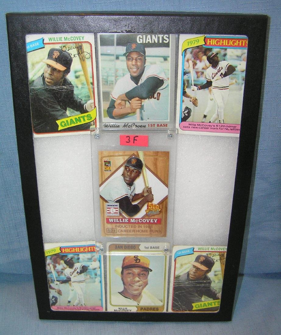 Willie McCovey all star baseball cards
