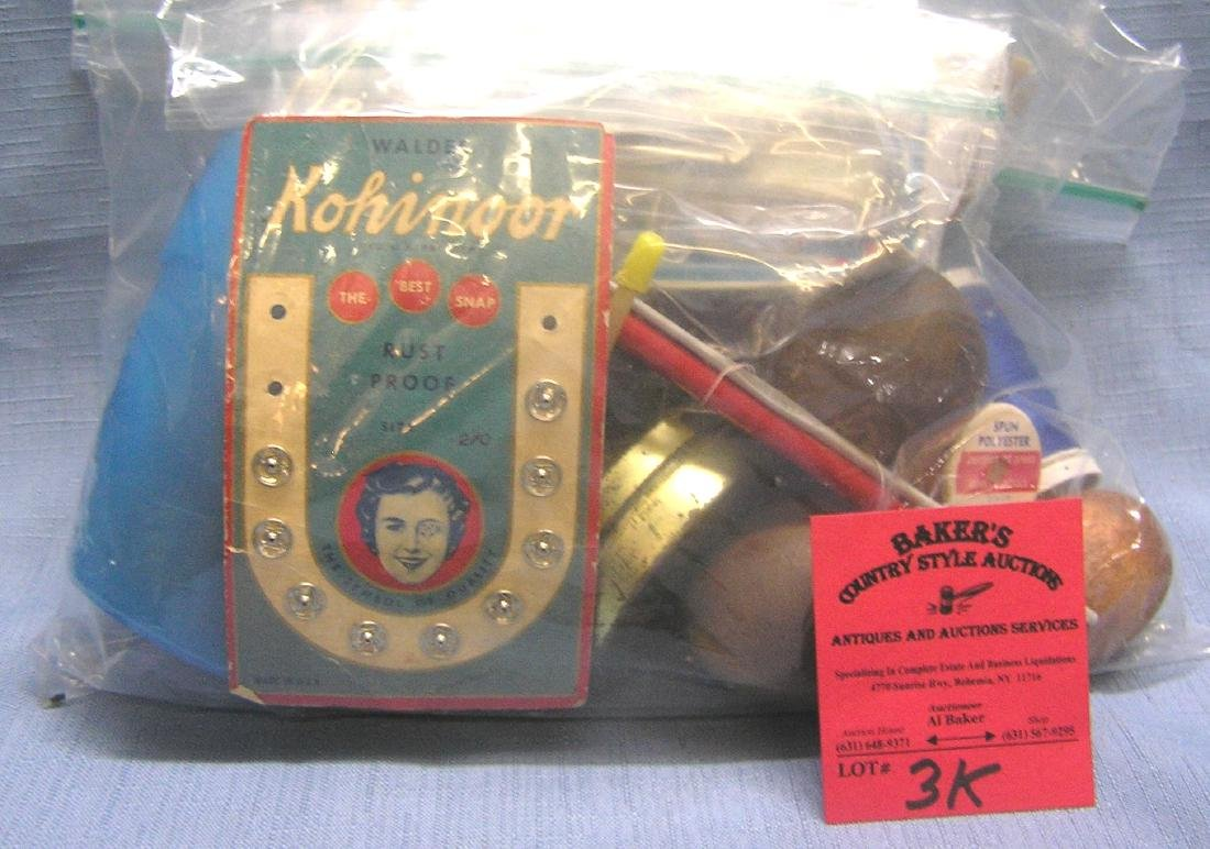 Antique and vintage sewing collectibles